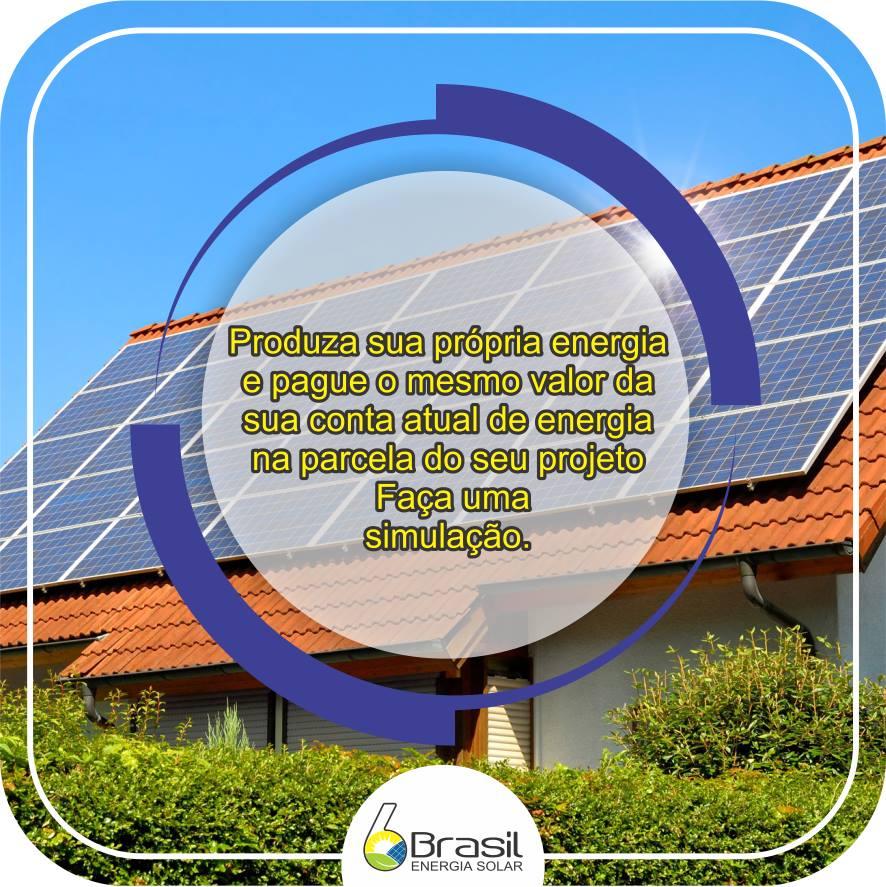 Energia Solar Em Uberlândia MG Brasil