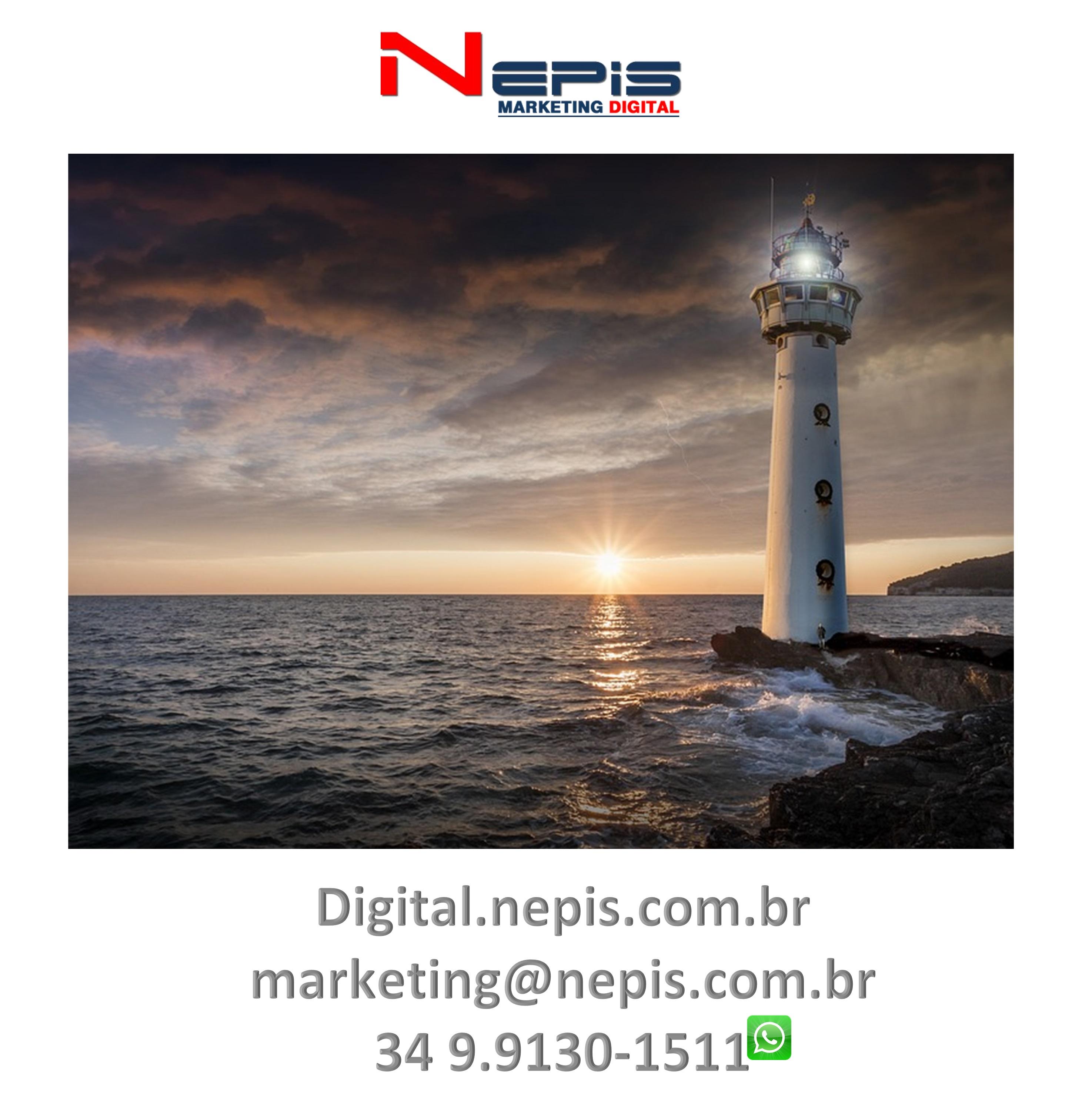 Redes sociais NEPIS marketing Digital farol