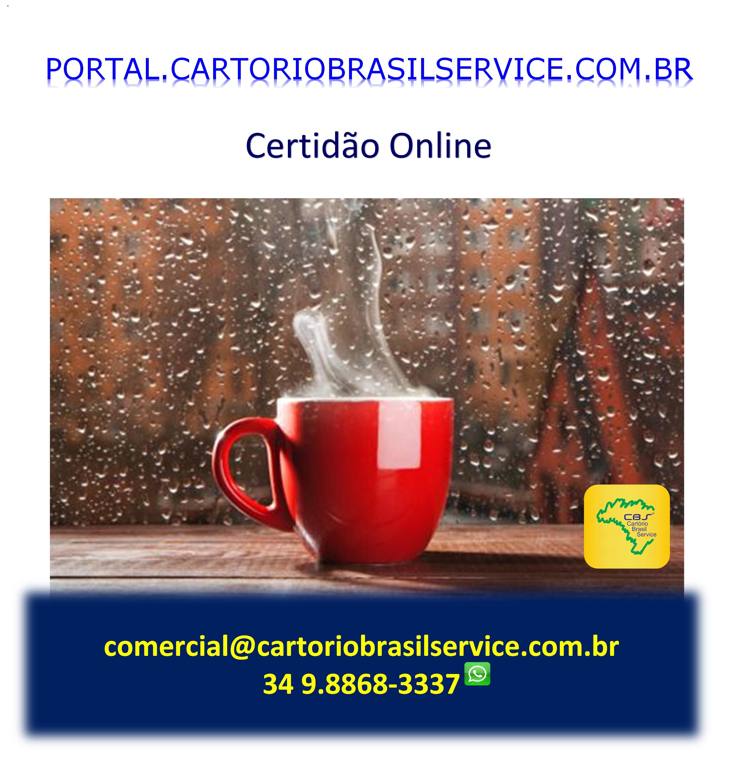 Cartório Brasil Service Cetidões Online Fácil