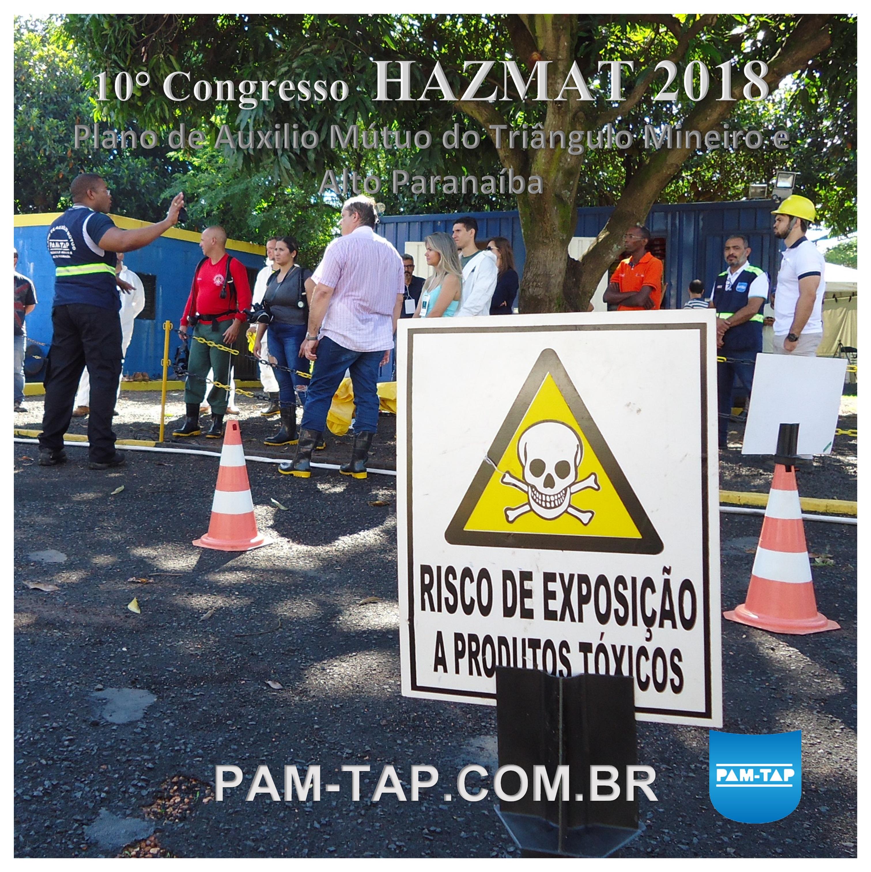 PAM-TAP HAZMAT 2018 UNEDI NEPIS UNIUBE UBERLANDIA RESGATECNICA GRUPO DECIO NP10 14