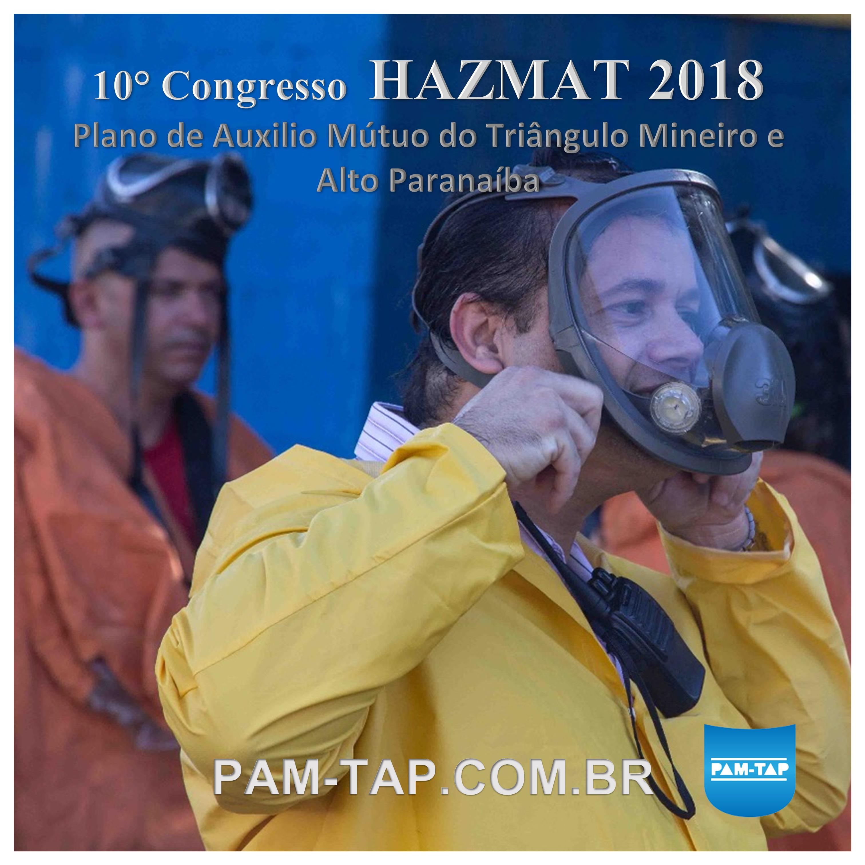PAM-TAP HAZMAT 2018 UNEDI NEPIS UNIUBE UBERLANDIA RESGATECNICA GRUPO DECIO